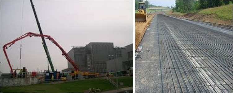 Different Types of Applications using Concrete