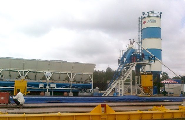 Concrete Batching Plant ATP 30