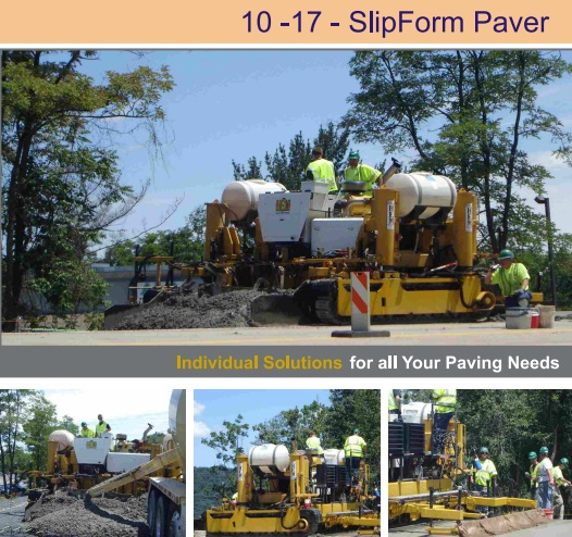 SlipForm Paver in India