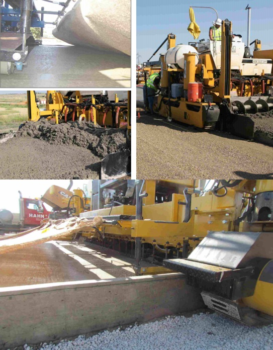 Slipform Pavers are used for best quality roads