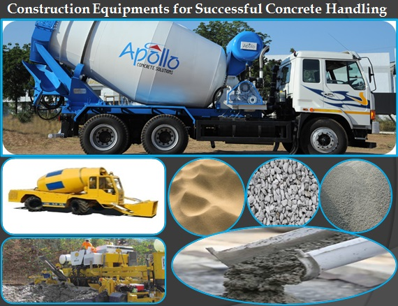 ready mix concrete equipments