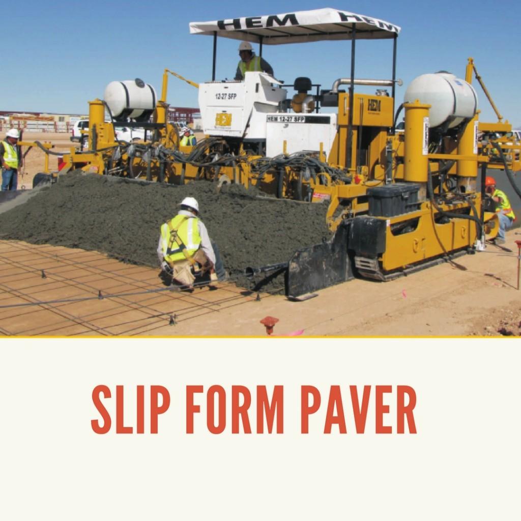 Slip Form Paver